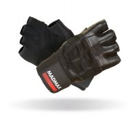 MADMAX Fitness rukavice PROFESSIONAL BLACK MFG269