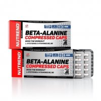 Nutrend Beta-Alanine Compressed Caps 90 kps