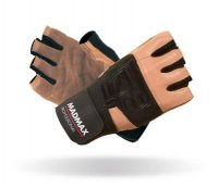 MADMAX Fitness rukavice PROFESSIONAL BROWN MFG269
